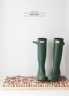 DIY Boot Storage Ideas for Fall & Winter | Apartment Therapy