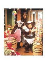 Mascot costume #59C Papa Bear