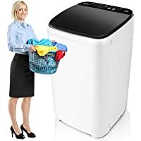 Full-Automatic Washing Machine Nictemaw Portable Washer 1.49 Cu.ft/13.5Lbs Capacity Laundry Washer Spin Dryer 10 programs Selections with LED Display Ideal for Home/Apartments/Dorms/RV #17 Full-Automatic Washing Machine Nictemaw Portable Washer 1.49 Cu.ft/13.5Lbs Capacity Laundry Washer Spin Dryer 10 programs Selections with LED Display Ideal for Home/Apartments/Dorms/RV 4.7 out of 5 stars 360 $219.99 - $429.99 Mini Washing Machine, Portable Washing Machine, Laundry Alternative, Spin Dryers, Washer Machine, Drain Pump, Best Appliances, Washing Clothes, Washer And Dryer