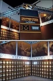 Mizzou Sports Hall of Fame...my love is on that wall...somewhere. :)