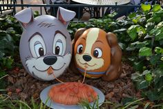 Tokyo Disneyland Easter egg decorations! They were themed for a bunch of characters around the park