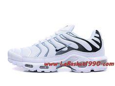 uk availability 025e6 b1eb5 Nike Air Max Plus (Nike TN) ID 903827 A004 Blanc Noir Chaussures Nike Prix  Pas