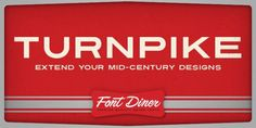 Turnpike™ font download
