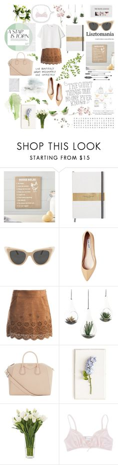 """● THE QUIET THINGS"" by paty ❤ liked on Polyvore featuring GUSTA, Illesteva, Steve Madden, Urban Outfitters, Sans Souci, NDI, Givenchy, Behance and Tommy Mitchell"