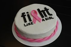 A Little Something Sweet - Custom Cakes: Fight Like A Girl {Pink Ribbon Cake} Breast Cancer Cake, Breast Cancer Survivor, Ribbon Cake, Natural Cancer Cures, Cute Cakes, Sweet Cakes, Creative Cakes, Girls Be Like, Themed Cakes