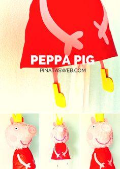 Piñata de Peppa Pig https://www.facebook.com/ppinatas