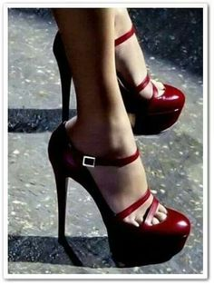 red stiletto high heels pumps women shoes fashion 3 http://www.womans-heaven.com/red-heels-17/