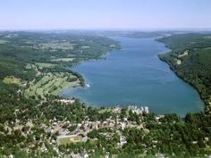 Cooperstown NY and Lake Otsego Cooperstown New York, Cool Places To Visit, Places To Go, Otsego Lake, Days In July, I Love Ny, Main Street, Small Towns, Trip Planning