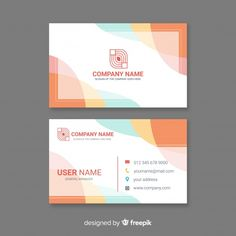 Creative modern business card template F. Free Business Card Templates, Business Card Mock Up, Modern Business Cards, Poster Design Layout, Graphic Design Layouts, Design Posters, Brochure Design, Japanese Graphic Design, Vintage Graphic Design