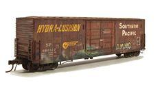 Weather Models, Ho Model Trains, Steel Frame Construction, White Spirit, Ho Scale Trains, Modeling Techniques, Train Engines, Train Car, Rust Color