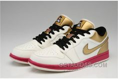 ff543c2bd7b Now Buy Air Jordan 1 Low Aaa High Quality White Gold Lastest Save Up From  Outlet Store at Pumarihanna.