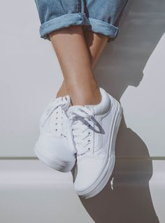 Old Skool II True White Introduced in 1977 the Vans Old Skool sneaker is a  classic in the Vans collection. Full of attitude the Old Skool is durable  and ... f3a07ef99d