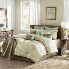 Madison Park Eden 12 Piece Comforter Set & Reviews | Wayfair