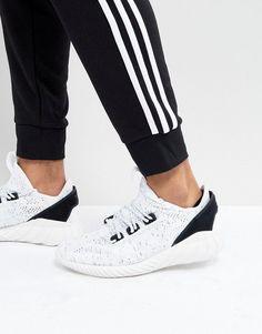 size 40 0406e 72534 adidas Originals Tubular Doom Sock Primeknit Sneakers In White