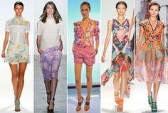 Xu hướng thời trang xuân 2013