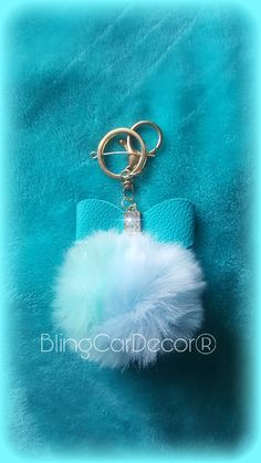 Bling Purse Charms   Keychains · Check out Bling Car Decor ® on Etsy for  more colors!!! Fur Keychain c8db6f7ff18f