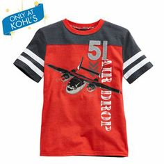Disney Planes Cabbie Tee by Jumping Beans - Toddler Little Boy Outfits, Toddler Boy Outfits, Kids Outfits, Boys Fall Fashion, Little Boy Fashion, Polo Shirt Outfits, Boys T Shirts, Kids Wear, Disney Planes