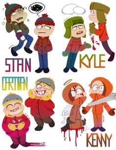 Been watching lots of South Park! I missed my boys! South Park Funny, Kenny South Park, Creek South Park, South Park Anime, South Park Fanart, South Park Quotes, Bendy Y Boris, Hiro Big Hero 6, Character Art