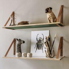 Leather Strap Shelves - View All - Shop By Category - New For Autumn