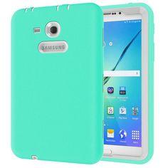 7b08520b1af0b Alabasta Kids Shockproof Rugged Heavy Duty Silicone + PC Case Cover For  Samsung Galaxy Tab 3