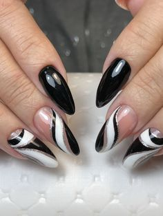 What You Don't Know About Christmas Nails Acrylic Coffin Long Could Be Costing T. - What You Don't Know About Christmas Nails Acrylic Coffin Long Could Be Costing To More Than You T - Trendy Nail Art, Easy Nail Art, Cool Nail Art, Latest Nail Art, Black Nail Designs, Nail Designs Spring, Nail Art Designs, Nails Design, Black Nail Art