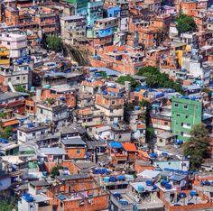 Rocinha (Biggest Favela in RioDeJaneiro) #Brazil #Rocinha #Favela #RioDeJaneiro #WorldCup2014 #Brasil