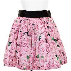 FLEAMADONNA Skirt (5,305 MXN) ❤ liked on Polyvore featuring skirts, bottoms, faldas, saias, checkered skirt, checked skirt, checkerboard skirt, floral printed skirt and punk skirt