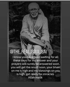 Discover recipes, home ideas, style inspiration and other ideas to try. Sai Baba Pictures, God Pictures, Faith Quotes, Wisdom Quotes, Apj Quotes, Life Quotes, Real Quotes, Qoutes, Sai Baba Miracles