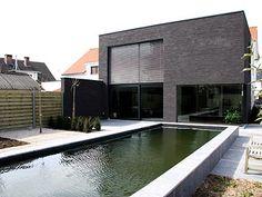 Moderne woning • renovatie • kubus • Brasschaat • architect Bert Parton # livios.be