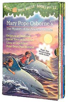 Magic Tree House The Mystery of the Ancient Riddles Boxed Set #3: Book 9 - 12 (Magic Treehouse Series)  byMary Pope Osborne