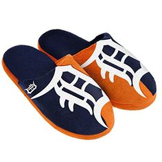 217c44b80 Compare prices on Detroit Tigers Slippers and other Detroit Tigers Footwear.  Save money on Tigers Slippers by viewing results from top retailers.