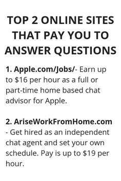 Top 2 Online Sites That Pay you To Answer Questions - Wisdom Lives Here Ways To Earn Money, Earn Money From Home, Earn Money Online, Way To Make Money, Money Saving Tips, Money Hacks, Money Today, Life Hacks Websites, Useful Life Hacks