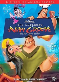 EMPERORS NEW GROOVE-NEW GROOVE EDITION (DVD)CHILDREN/FAMILY EMPEROR KUZCO IS…