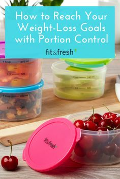 How Portion Control Can Help You Reach Your Weight Loss Goals from our Fit & Fresh Blog