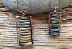 I really enjoyed looking at the work of Cape Cod Beach Stone Jewelry.