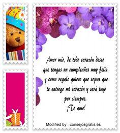 buscar bonitos mensajes de feliz cumpleaños para mi amor,descargar bonitos mensajes de feliz cumpleaños para mi amor: http://www.consejosgratis.es/sms-de-cumpleanos/