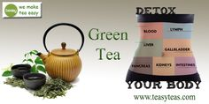 Green Tea Benefits, Easy Detox, Detox Tea, Canning, Mugs, Tableware, How To Make, Free, Dinnerware