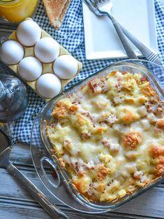 Monte Cristo Style Breakfast Casserole