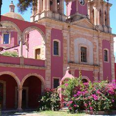 Haciendas Mexicanas...mexican pink!