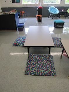 Spouting About 2nd Grade: Alternative Seating in the Classroom