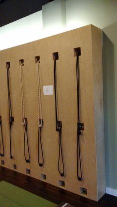 Up lighting. Rope Wall, Studio87, Norcross GA
