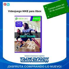 ¿Qué te parece este videojuego NIKE para tu Xbox? TransExpress compras en internet en El Salvador. Costo aprox. $75.34 http://amzn.com/B002I0H27E
