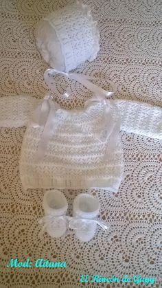 Girls Dresses, Flower Girl Dresses, Baby Dress, Crochet Baby, Diy, Knitting, Wedding Dresses, Crafts, Babies