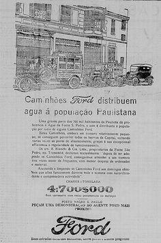 Ford Brasil advertising in 1925