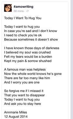 Sad today. What a loss. #RobinWilliams