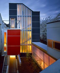 Envelope House, Seattle by Bohlin Cywinski Jackson