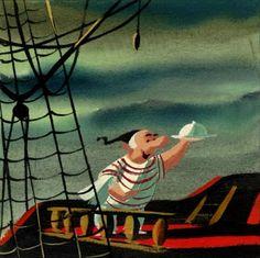 Peter Pan concept art