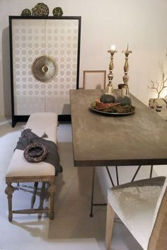 NATURAL CHIC XMAS Our showroom in Civitanova Marche: do you like our Christmas in natural chic style?