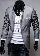 Men's fashion suits slim casual suit jacket for men civilian clothes brands designer classic retro clothing New Mens Fashion, Mens Fashion Suits, Mens Suits, Men's Fashion, Modern Fashion, Casual Suit Jacket, Casual Blazer, Men Blazer, Casual Chic