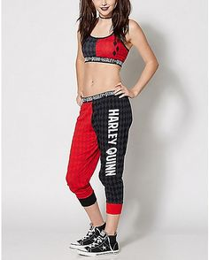 DC Comics Harley Quinn Sports Bra Jogger Set - Spencer's https://pagez.com/4136/36-rickdiculous-rick-and-morty-facts